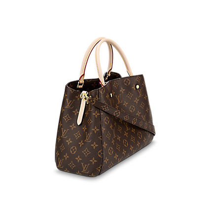 Louis Vuitton Totes Monogram Canvas A4 2WAY Office Style Totes 3