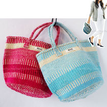 Ron Herman Casual Style Unisex Straw Bags