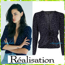Realisation Par Star Silk Long Sleeves Shirts & Blouses