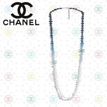 CHANEL Costume Jewelry Silver Necklaces & Pendants
