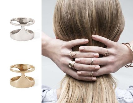 Costume Jewelry Casual Style Silver Rings