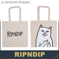 RIPNDIP Canvas Other Animal Patterns Totes