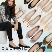PARFOIS Faux Fur Plain Ballet Shoes