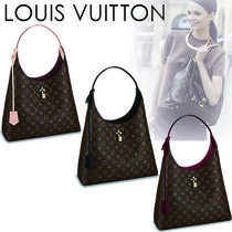 Louis Vuitton MONOGRAM Monogram Canvas A4 Elegant Style Shoulder Bags