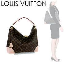 Louis Vuitton MONOGRAM Monogram Casual Style Canvas A4 Shoulder Bags