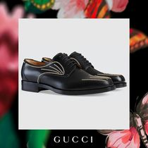 GUCCI Leather Oxfords