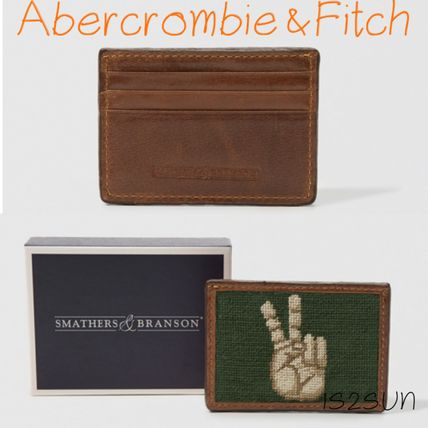 Unisex Street Style Collaboration Card Holders