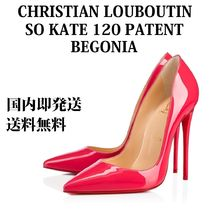 Christian Louboutin So Kate Enamel Plain Pin Heels Pointed Toe Pumps & Mules
