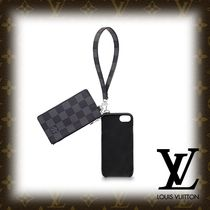 Louis Vuitton DAMIER GRAPHITE Other Check Patterns Smart Phone Cases