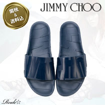 Jimmy Choo Street Style Plain Loafers & Slip-ons