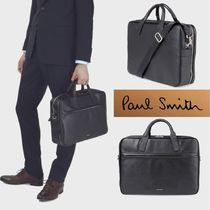Paul Smith Plain Leather Business & Briefcases