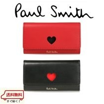 Paul Smith Plain Leather Keychains & Bag Charms