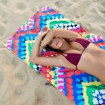 TESALATE Monoglam Tropical Patterns Beach Cover-Ups