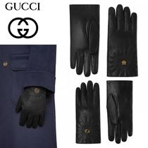 GUCCI Unisex Other Animal Patterns Leather
