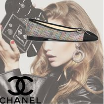 CHANEL Casual Style Plain Ballet Shoes
