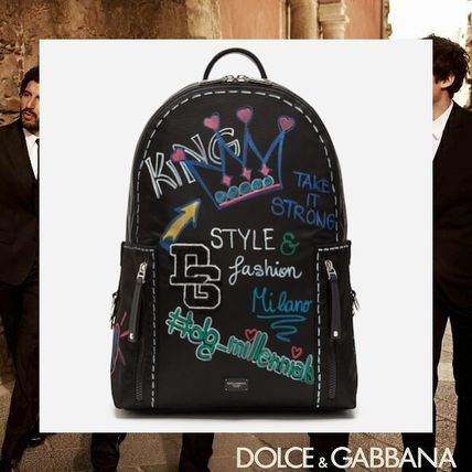 Nylon Street Style Backpacks