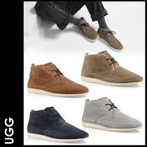 UGG Australia Straight Tip Suede Street Style Plain Shoes