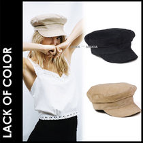 lack of color Street Style Beret & Huting