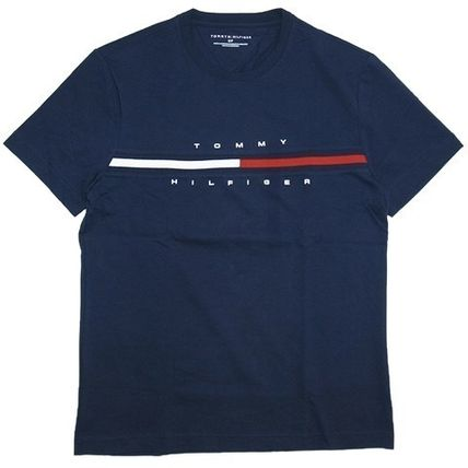 Tommy Hilfiger More T-Shirts Unisex Street Style Short Sleeves T-Shirts 5
