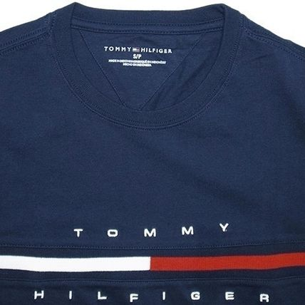 Tommy Hilfiger More T-Shirts Unisex Street Style Short Sleeves T-Shirts 6
