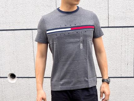 Tommy Hilfiger More T-Shirts Unisex Street Style Short Sleeves T-Shirts 7