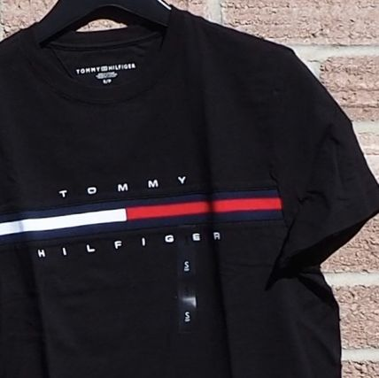 Tommy Hilfiger More T-Shirts Unisex Street Style Short Sleeves T-Shirts 10