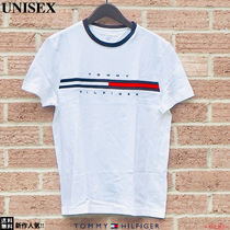 Tommy Hilfiger Unisex Street Style Short Sleeves T-Shirts
