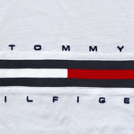 Tommy Hilfiger More T-Shirts Unisex Street Style Short Sleeves T-Shirts 3