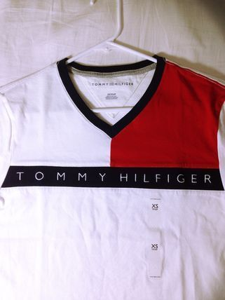 Tommy Hilfiger More T-Shirts Unisex Street Style Short Sleeves T-Shirts 2