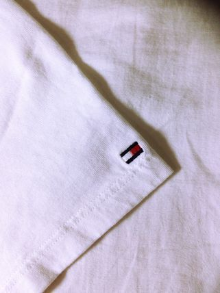 Tommy Hilfiger More T-Shirts Unisex Street Style Short Sleeves Logo T-Shirts 3