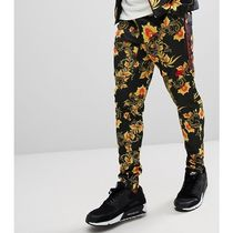 Nike Flower Patterns Sweat Street Style Plain