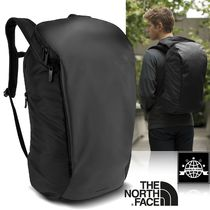 THE NORTH FACE Unisex Nylon A4 Plain Backpacks