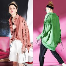 ELF SACK Casual Style Street Style Super-long Sleeves