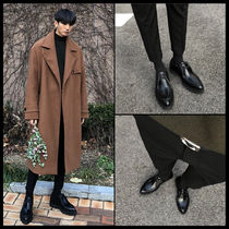ASCLO Street Style Leather V Tips Oxfords