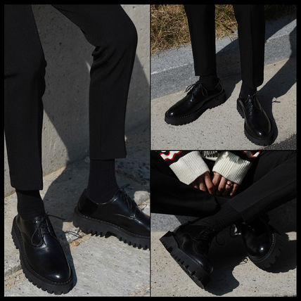 Casual Style Street Style Leather Shoes