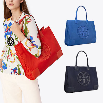 938f9f6bb61 Tory Burch ELLA TOTE 2018 SS Casual Style Nylon A4 Totes (45207) by ...