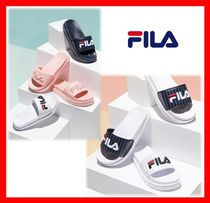 FILA Stripes Casual Style Street Style Sandals
