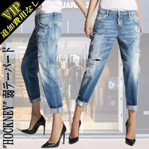 D SQUARED2 Casual Style Denim Street Style Short Length Jeans