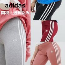 adidas Stripes Casual Style Street Style Long Bottoms