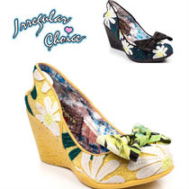 Irregular Choice Flower Patterns Tropical Patterns Round Toe Casual Style