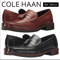 a0929ace1dc Cole Haan Plain Toe Loafers Plain Leather Loafers   Slip-ons