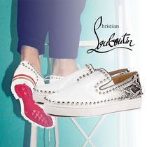 Christian Louboutin PIK BOAT Leather Loafers & Slip-ons