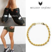 MELODY EHSANI Street Style Plain Anklets