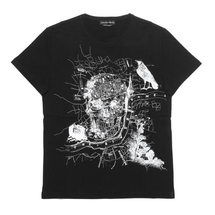 Skull Cotton Short Sleeves T-Shirts