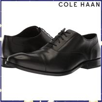Cole Haan Plain Leather Oxfords