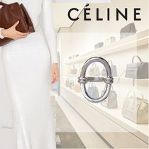 CELINE Casual Style Silver Rings