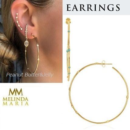 Brass Earrings & Piercings