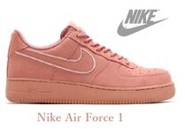 Nike AIR FORCE 1 Suede Street Style Plain Sneakers