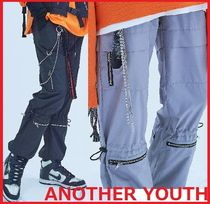 ANOTHERYOUTH Unisex Street Style Joggers & Sweatpants