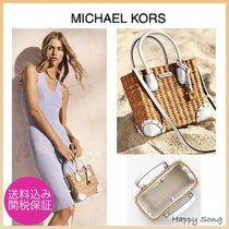 Michael Kors Casual Style 2WAY Straw Bags